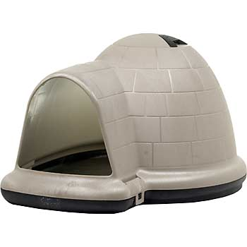 Wonderful  Igloo Dog House  How To Keep The Rain/elements Out?