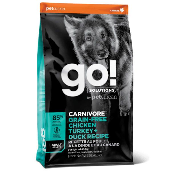 Any experience with Go! dog food (Petcurean)-go-solutions-carnivora-gf