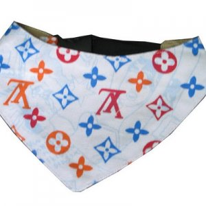 PF-004 Louis Vuitton LV dog scarf