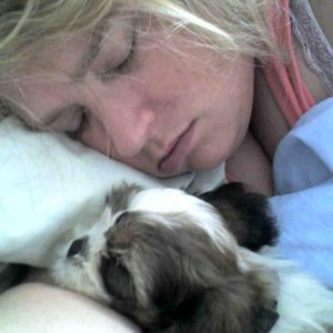 napping with my baby