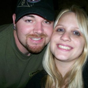 Me and my hubby about a year ago or so.