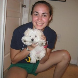 July 2008 - The first day I got Lily!